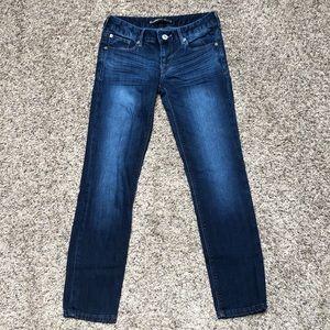 "Express jeans! Skinny "" Stella lowrise"" size 0S"